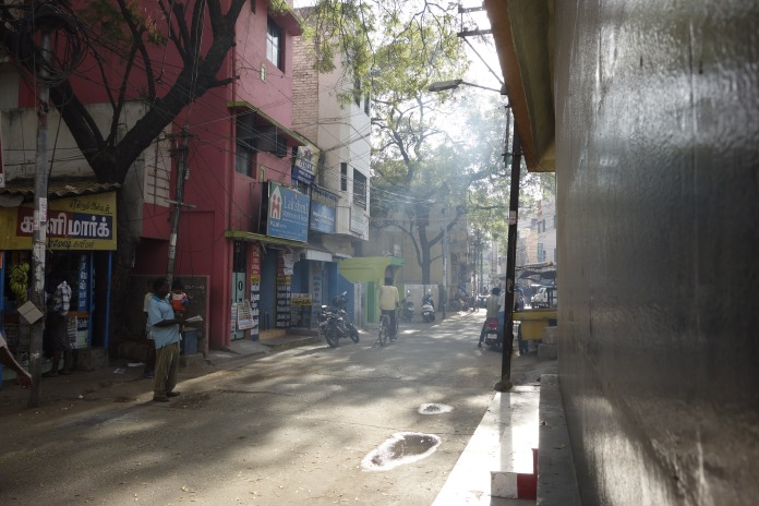 Morning street, Madurai
